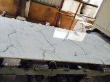 Losas de mármol blanco Bianco Calacatta pulido