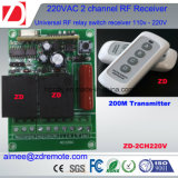 commutateur d'obturateur de roulement de 2channel 220V