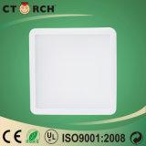Квадрата светильника потолка Ctorch свет 12W 170-240V нового крытого штрафной