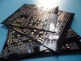 Circuito del PWB PWB Fr-4 del oro de la inmersión del PWB del negro de 6 capas