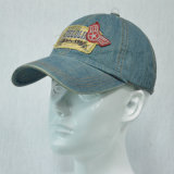 カウボーイ様式6のパネルの綿の帽子の洗浄帽子