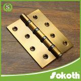 Charnière de porte en bois lourde roulement à billes d'acier inoxydable