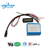 Batería de ion de litio 18650 12V 10200mAh para la batería de la máquina de la medicina