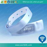 Le PVC a estampé un bracelet remplaçable d'IDENTIFICATION RF d'utilisation de temps