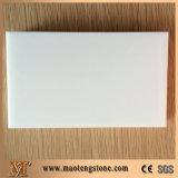 أبيض [ننو] يبلور زجاجيّة لوح حجارة [كونترتوب]