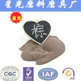 研摩のブラウンの鋼玉石の粉の送風媒体