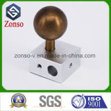 Peças de maquinaria feitas à máquina CNC de bronze de alumínio do bronze do aço inoxidável da pressão