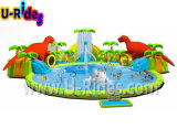 水公園、移動水公園、土地水公園、フレームのプール