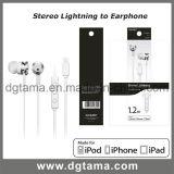 Молния в-Уха 8pin наушника на iPhone 7 5 6s плюс шлемофон
