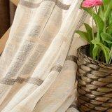 現代様式の綿のリネン明白な染められた停電の窓カーテン(29W0038)