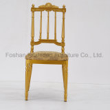 Le Roi de luxe Chiavari Wedding Chair d'or pour la noce