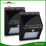 20 LED IP65는 무선 인간적인 운동 측정기 정원 빛 옥외 태양 PIR 센서 벽 빛을 방수 처리한다