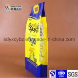 Подгонянные мешки пластичного риса упаковывая сделанные от сырья 100% нового