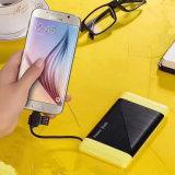 batería de gran alcance de la potencia del USB 6000mAh para los dispositivos móviles