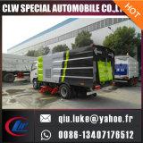 4X2 120HP 진공 도로 스위퍼 트럭