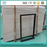 Marbre en bois blanc des graines/veines, brames blanches de Serpeggiante/tuiles/revêtement/marbre de bordage/configuration
