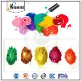 Pigmento naturale della vernice del chiodo della mica, pigmento variopinto della perla della mica per il polacco di chiodo