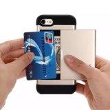 Caixa de cartão magro da armadura de Sgp do PC dos acessórios TPU da caixa do telefone de pilha para o iPhone 7 mais 6 6s