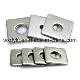 Usine carrée plate de rondelle de garniture ordinaire du dispositif de fixation BS 3410 d'acier inoxydable de la Chine
