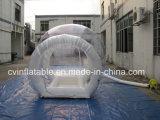 Aufblasbares transparentes Luftblasen-Zelt