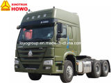 Sinotruk HOWOの販売のための高いタクシーのトラクターのトラック6X4の索引車