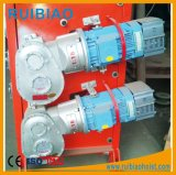 Коробка передач редуктора шестерни глиста запасных частей конструкции, редуктор скорости подъема