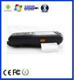 Dispositivo ZKC PDA3505 3G rugosa de mano con Pritner código de barras escáner NFC RFID