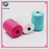 Linha Sewing girada colorida do revestimento do algodão do anel do preço de fábrica 2017