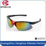 Vetri di sport di Guangzhou Jianghua con gli occhiali da sole differenti UV400 Camo di colore di alta qualità
