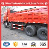 Vrachtwagen van de Stortplaats van de Kipper van China 8X4 340HP de Zware