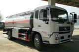 Venta caliente 15000 L petrolero 4X2 del combustible de Dongfeng 15000 litros de gasolina de carro del depósito
