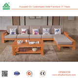 Софа древесины сосенки мебели софы установленных изображений софы деревянная