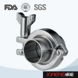 De Sanitaire Metalen kap 14mmp Triclover van het roestvrij staal (jn-FL2001)