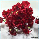 결혼식 훈장 홈 훈장 부속품을%s 인공적인 가짜 꽃이 실크에 의하여 꽃이 핀다