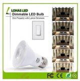 Luz contratante da PARIDADE do diodo emissor de luz para a iluminação interior com o bulbo do diodo emissor de luz de E26 9W 12W 15W 18W 20W