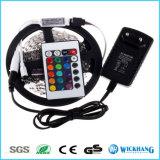 Mini 24 reguladores sin hilos alejados dominantes del IR para la tira 12V de la luz de 3528 5050 RGB LED