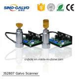 携帯用ファイバーレーザーのマーキング機械のためのJs2807 Galvoのスキャンナー