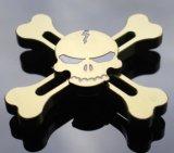 Zinc aleación cráneo Fidget Spinner mano dedo dedo spinner