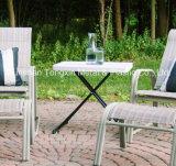 신식 Personal 3개 고도 Adjustable 테이블 백색