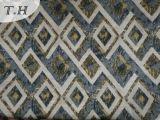 Le tissu simple de sofa de jacquard de losange pour des meubles