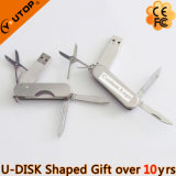 Lecteur flash USB de couteau d'armée de cadeau en métal (YT-1218)