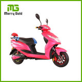 1000W 10*3.0のインチ60Vピンクカラー美しい女性の電気スクーター