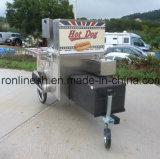 Трейлер киоска/горячая сосиска Charriot/тележка горячей сосиски/тележка еды улицы/трейлер доставки с обслуживанием/трейлер заедк/передвижные стойло Foodcart /Food/CE тележки гамбургера