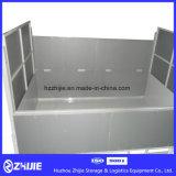 Антиржавейный складной контейнер металла