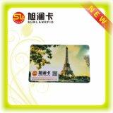 広く使用法を用いる標準大きさで分類された印刷PVC RFIDスマートカード