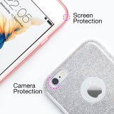 Mode Luxe Protective Hybrid Beauty Crystal Rhinestone Sparkle Glitter Hard Diamond Case Cover pour iPhone 6s
