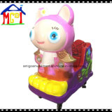 Automobili di giro del Kiddie dell'oscillazione della macchina del gioco della scanalatura per i bambini