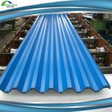 Цвет высокого качества покрыл стальные гальванизированные плитки крыши настилающ крышу лист