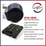 motor elétrico do velomotor do motor de 10kw BLDC/motor elétrico do barco/motor carro elétrico