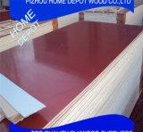 Rojo / negro / marrón contrachapado de la película / contrachapado marina para la construcción